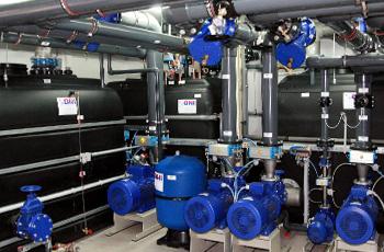 Zbiorniki przemysłowe do instalacji chłodniczych i klimatyzacyjnych