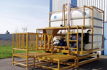 Zbiorniki przemysłowe dla przemysłu budowlanego